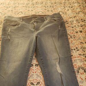 Torrid bombshell skinny jeans